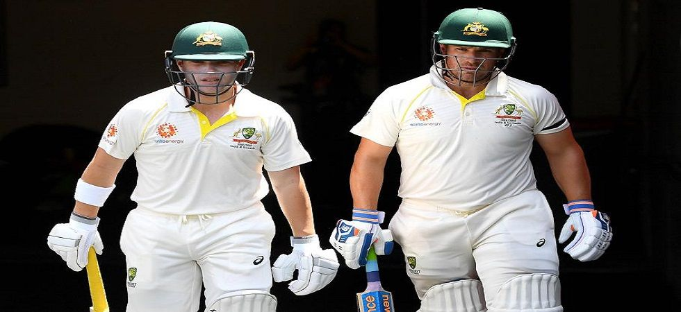 Aaron Finch and Marcus Harris stitched a fifty-plus opening stand for only the sixth time in Tests in 2018. (Image credit: Twitter)