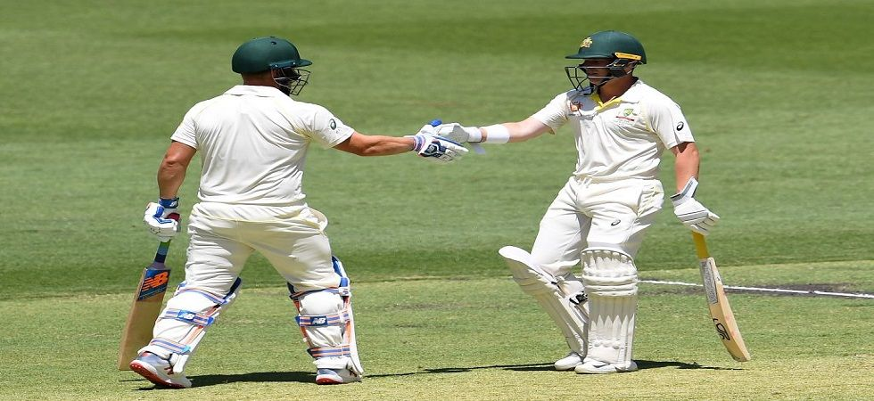 Marcus Harris slammed his maiden fifty as Australia ended on 277/6 on day 1 of the Perth Test against India. (Image credit: Twitter)
