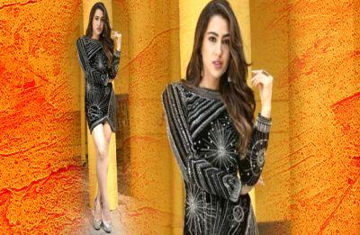 Simmba: When Sara Ali Khan sizzled in Tanya Ghavri's little black dress