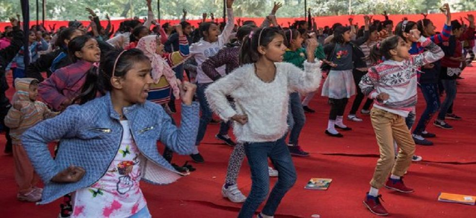 Delhi Police enters Limca Book of Records (Photo: Twitter)