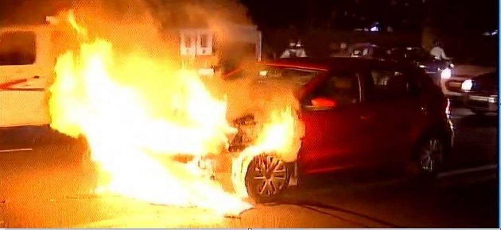 The car suddenly stopped and subsequently overturned and minutes later it caught fire (Photo: File)