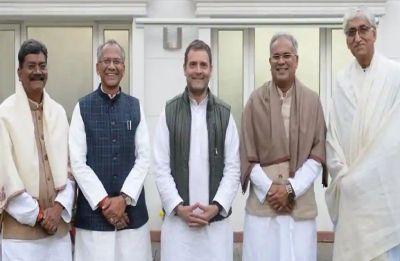 Rahul Gandhi's tweet hints end to deadlock on Chhattisgarh CM, official announcement today