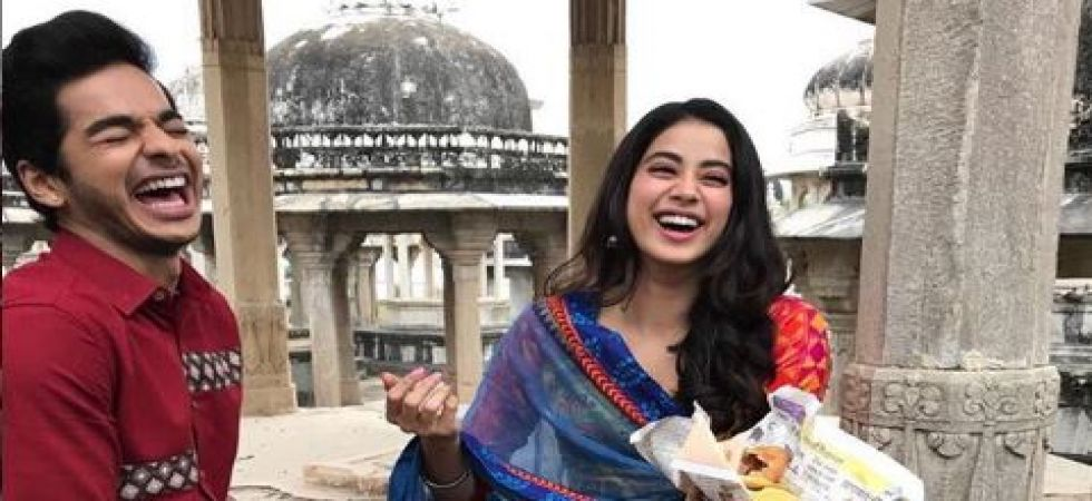 Ishaan Khatter clears air on dating Janhvi Kapoor (Instagrammed photo)