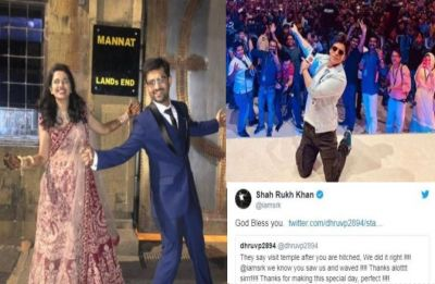 Shah Rukh Khan surprises newlywed couple with happy blessings, find out here
