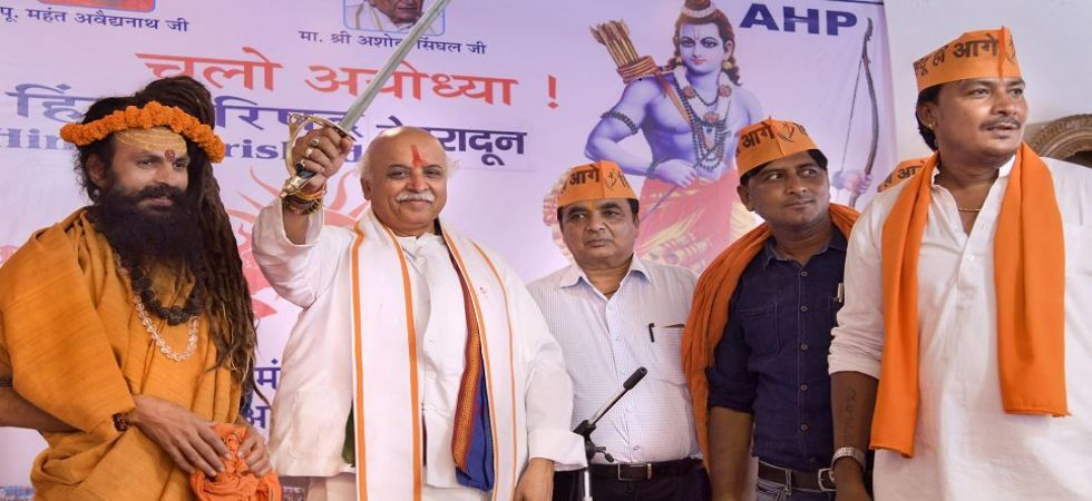 Togadia, who floated Antar-Rashtriya Hindu Parishad (AHP), took part in a 20-km march --- from Dehgam to Gandhinagar in support of the farmers --- which was organised by the Rashtriya Kisan Parishad (RKP), an AHP wing.