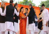 Ashok Gehlot takes oath as Rajasthan Chief Minister, Sachin Pilot sworn in as deputy CM