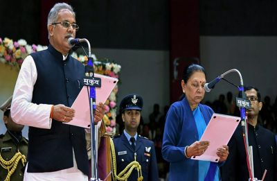 Bhupesh Baghel takes oath as new Chhattisgarh Chief Minister