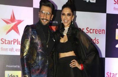 Ranveer Singh wins 'best leading actor' for Padmavat, wife Deepika Padukone's reaction is pure love