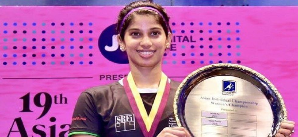 Joshna Chinappa equalled Bhuvneshwari Kumari's record of 16 National Squash Titles. (Image credit: Twitter)