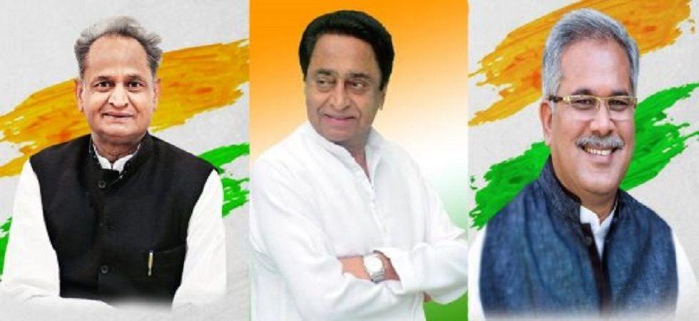 Ashok Gehlot, Kamal Nath and Bhupesh Baghel.