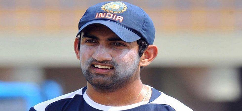 Former Indian cricketer Gautam Gambhir