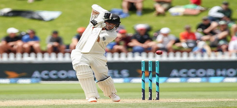 Tom Latham hit the sixth highest individual score for New Zealand in the first Test against Sri Lanka. (Image credit: Twitter)