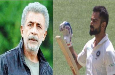 Actor Naseeruddin Shah calls Virat Kohli 'worlds worst behaved player'