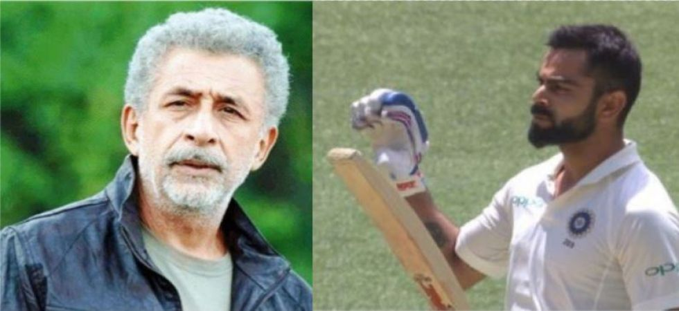 Actor Naseeruddin Shah calls Virat Kohli 'worlds worst behaved player'