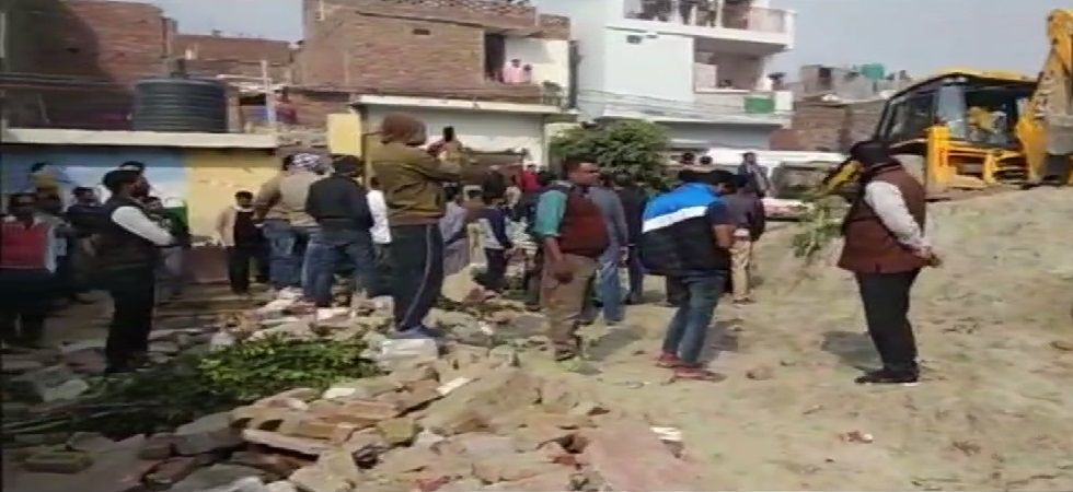 The school is in the Sector 49 police station limits in Noida. (Photo: ANI)