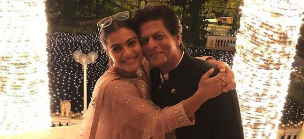 Shah Rukh Khan and Kajol re-unite for another project? (Instagrammed photo)