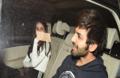 Kartik Aaryan enjoys evening date with Ananya Pandey, another crush for Sara Ali Khan?