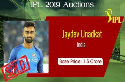 IPL 2019 Auction: Jaydev Unadkat once again breaks the bank, goes to Rajasthan Royals