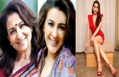 Sharmila Tagore messaged ex-bahu Amrita Singh for Sara Ali Khan's performance in Kedarnath