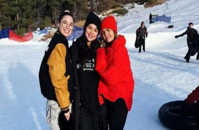 Selena Gomez spotted enjoying winter snow with Bffs after October mental breakdown