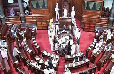 Uproar in Parliament over Rafale deal, Congress demands JPC probe, Modi government not ready