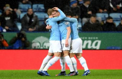 Manchester City beat Leicester 3-1 in penalty shootout, progress to semi-final of the English League Cup