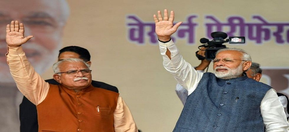 Manohar Lal Khattar said the victory in mayoral elections is a win of the government's policies. (PTI/file)