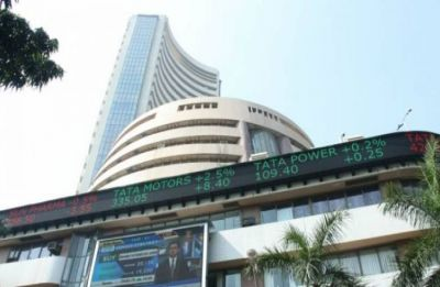 Sensex rises over 100 points on rupee, falling crude prices