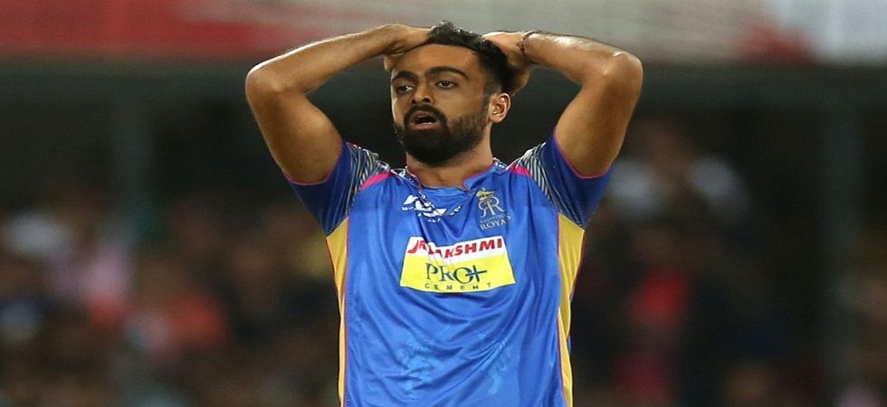Jaydev Unadkat once again became the highest sold Indian in the IPL 2019 Auction. (Image credit: Twitter)