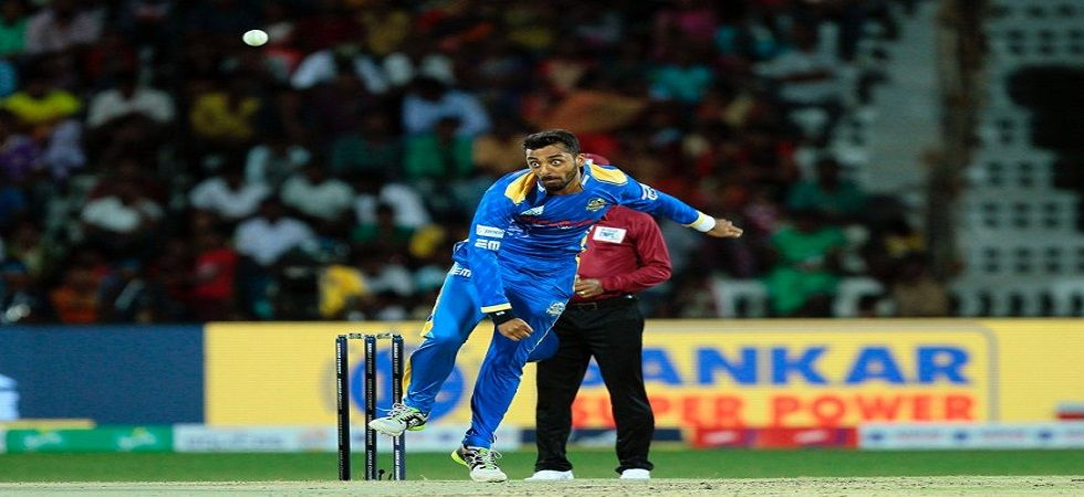 Varun Chakaravarthy was the star pick in the IPL 2019 auction as he went to Kings XI Punjab for Rs 8.4 crore. (Image credit: Twitter)