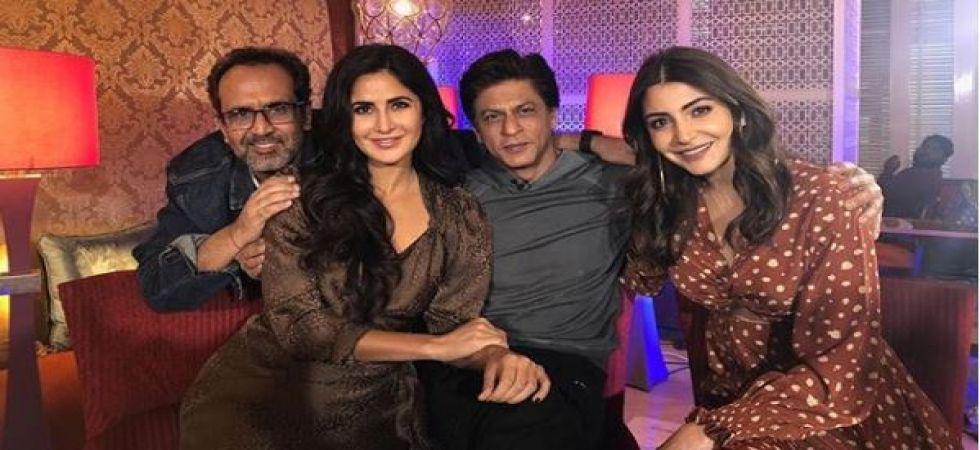 Shah Rukh Khan introduces Bauua's 'cute' friend (Instagrammed photo)