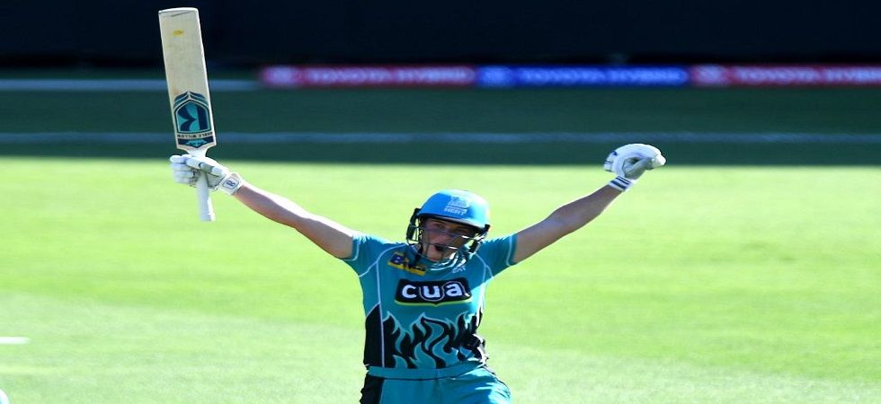 Grace Harris became the first player to hit two centuries in the Women's Big Bash League. (Image credit: ICC Twitter)