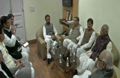 Upendra Kushwaha joins Congress-led grand alliance in Bihar, meeting underway to okay seat-sharing pact