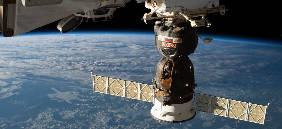 The section of the spacecraft carrying the crew, will make a parachute-and-rocket-assisted touchdown near the town of Dzhezkazgan in Kazakhstan