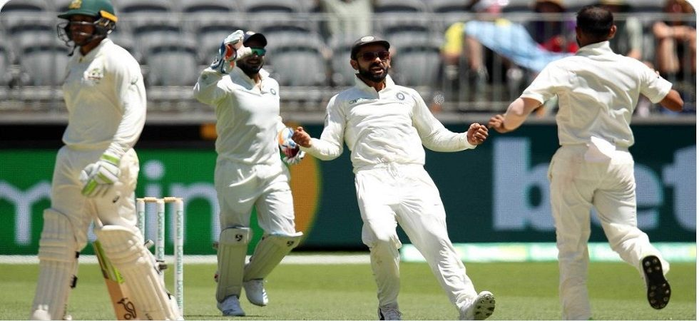 Virat Kohli's aggression came for some criticism during the Perth Test. (Image credit: Twitter)