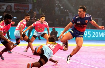 Pro Kabaddi League: Dabang Delhi play out 37-37 draw with Jaipur Pink Panthers