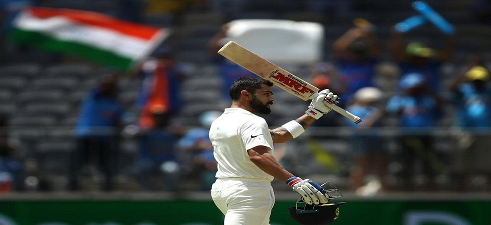 Virat Kohli scored a magnificent century in the last Test between India and Australia in the 2014 Boxing Day Test. (Image credit: Twitter)