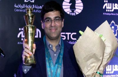 Viswanathan Anand, reigning World Rapid chess champion, to defend title in St Petersburg