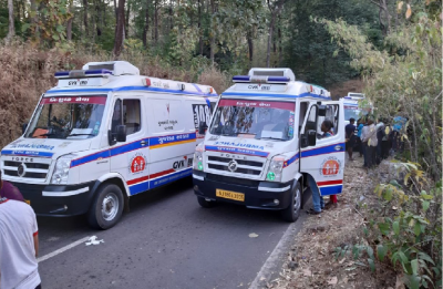 Gujarat: Three students dead after bus carrying 50 falls into deep gorge in Dang district