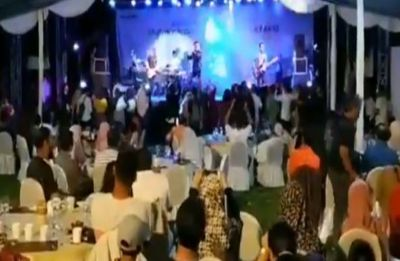 WATCH VIDEO | Indonesia Tsunami: Rock band swept away mid performance
