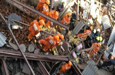 Under-construction building collapses in Mumbai's Goregaon, 3 dead, scores injured