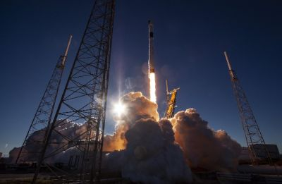 Elon Musk's SpaceX launches Falcon 9 GPS satellite for US Air Force