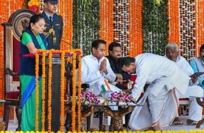 Madhya Pradesh: Two women among 28 ministers inducted in Kamal Nath's cabinet