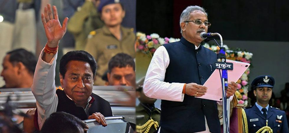 The new Cabinet of Madhya Pradesh Chief Minister Kamal Nath and Chhattisgarh Chief Minister Bhupesh Baghel will take oath today.
