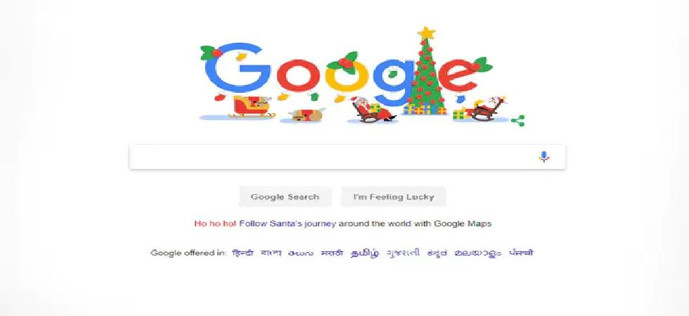 Google has been posting their annual 'Happy Holidays' doodles from Sunday