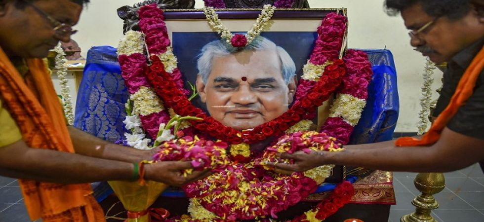 Vajpayee's 25-ft tall statue to be installed in UP secretariat (File Photo)