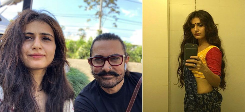Fatima Sana Shaikh shared screen space with Aamir Khan in Dangal and Thugs of Hindostan./Image: Instagram