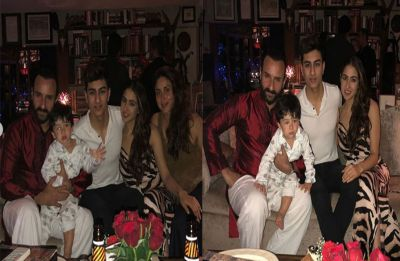 Kareena Kapoor Khan and Saif Ali Khan celebrate Christmas with Taimur, Sara and Ibrahim, see PICS