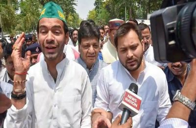 'Why not?': Tej Pratap Yadav says he is not averse to assuming RJD leadership