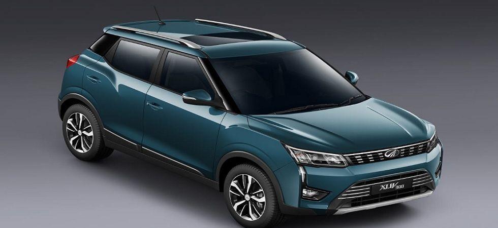Mahindra XUV300 compact SUV bookings open (Twitter)